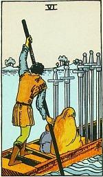 Значение карт Таро Младшие Арканы шестерка мечей