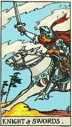 Значение карт Таро Младшие Арканы рыцарь мечей