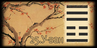 Толкование 25 гексаграммы Книги Перемен