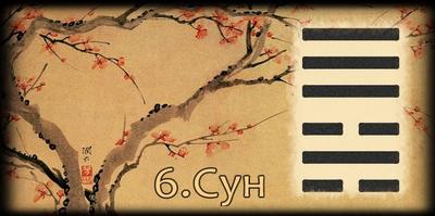 Толкование 6 гексаграммы Книги Перемен