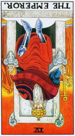 Значение карт Таро при гадании Карты Таро толкование перевернутый Император