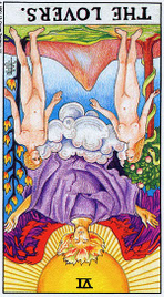 Значение карт Таро при гадании Карты Таро толкование перевернутая карта Влюбленные или Возлюбленный или Любовники