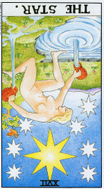 Значение карт Таро при гадании Карты Таро толкование перевернутая Звезда