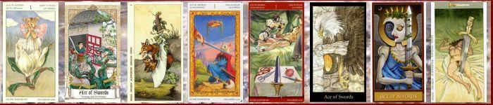 Толкование карт таро туз мечей значение