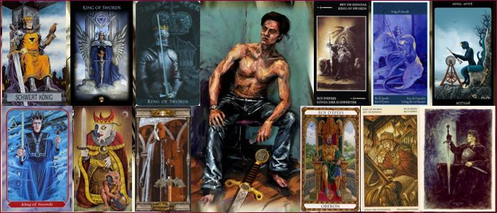 Толкование карт Таро Мечи | Король мечей Таро значение
