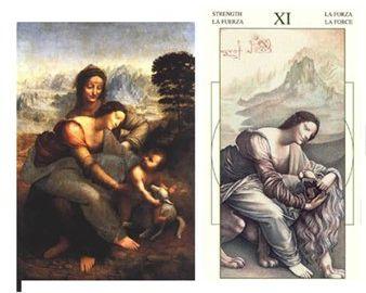 Колода карт Леонардо да Винчи