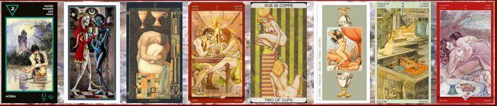 Толкование карт Таро кубки (чаши) | Двойка кубков (чаш)