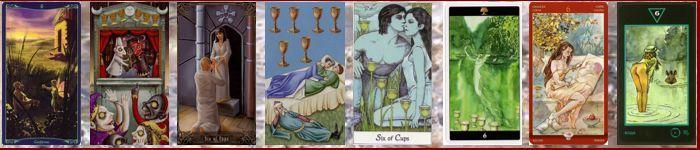 Толкование карт Таро кубки (чаши) | Шестерка кубков (чаш)