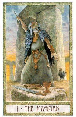 Гадание на Таро на Новый год Карта нового года Магия друидов Маг