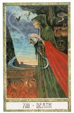 Гадание на Таро на Новый год Карта нового года Магия друидов Смерть