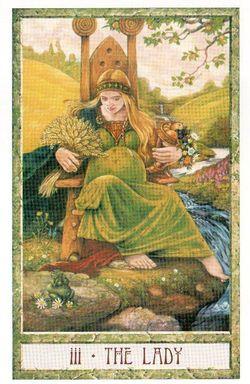 Гадание на Таро на Новый год Карта нового года Магия друидов Императрица