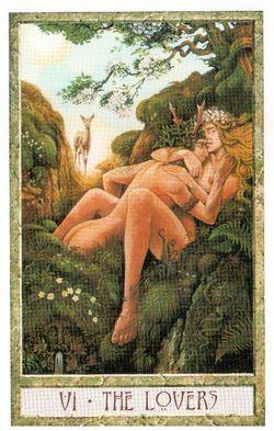 Гадание на Таро на Новый год Карта нового года Магия друидов Влюбленные