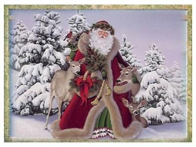 Гадание на Таро на Новый год Карта нового года Дед Мороз год Козы 2015