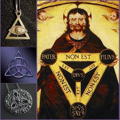 Амулет Купить магические амулеты и талисманы от сглаза и порчи Треугольник Святая троица