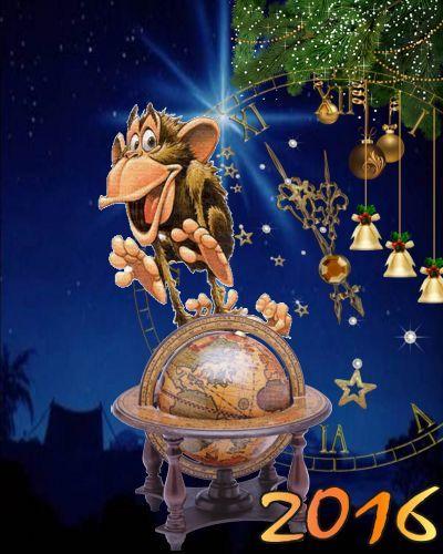 Новогодние гадания Год Огненной Обезьяны 2016 Гадания на Новый год