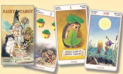 Колода Таро Сказка Леса (Fairy Tarot) автора Антонио Лупателли (Antonio Lupatelli)