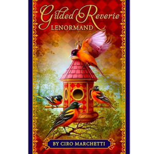 Купить Gilded Reverie Lenormand. Золотые мечты Ленорман