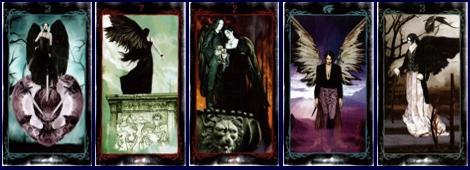 Колоды Таро Ангелов галерея Таро темных Ангелов